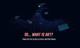 Yes... But is it Art?