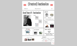 SP4451 - Functionalism