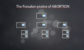 The Forsaken pratice of ABORTION