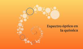 Espectro óptico en la química