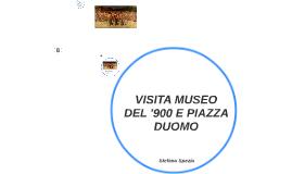 VISITA MUSEO DEL '900