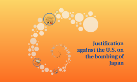 Justification against the U.S. on the bombing of Japan