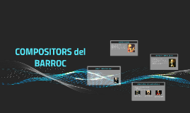 COMPOSITORS DEL BARROC
