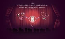 Elon Monologue: A Creative Exploration of Life, Culture, and