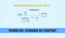 Copy of TEORÍA DEL LENGUAJE DE VIGOTSKY