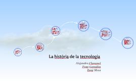 La història de la tecnologia