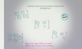 Comunucación En Los Sistemas Operativos Distribuidos.