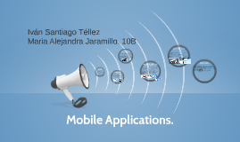 Mobile Applications.