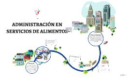 ADMINISTRACIÓN EN SERVICIOS DE ALIMENTOS