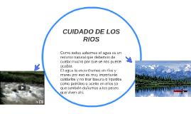 CUIDADO DE LOS RIOS