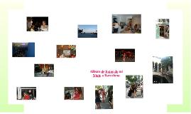 Album de Fotos de mi Viaje a Barcelona
