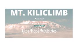 GHM KiliClimb