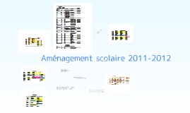 horaire 2011-2012