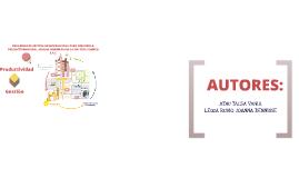 PROGRAMA DE GESTION ORGANIZACIONAL PARA MEJORAR LA PRODUCTIVIDAD EN EL AREA DE INGENIERIA DE LA EMPRESA COMECO S.A.C.