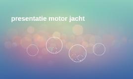 presentatie motor jacht