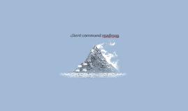 client command roadmap