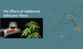 The effects of adolescent substance abuse