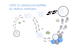 Steps to Curriculum Mapping
