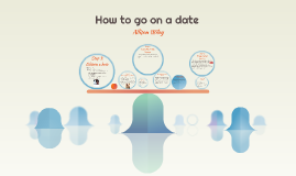 How to go on a date