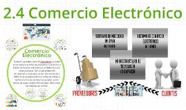 2.4 Comercio Electrónico