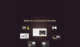 Steps to a sucessfull inteview