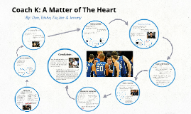 Copy of Coach K: A Matter of The Heart