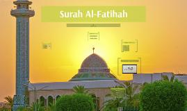 Copy of Surah Al-Fatihah