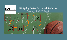 2018 Spring CoRec Basketball Refresher