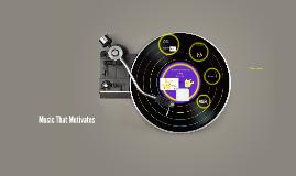Music That Motivates