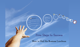 Copy of Copy of Five Steps to Success