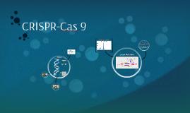 CRISPR-Cas 9