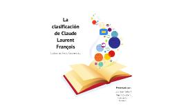 CLASIFICACION DE CLAUDE LAURENT
