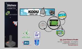 Experiencia de Trabajo con Kodu