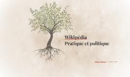 Wikipédia - Pratique et politique