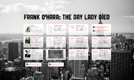 Frank O'Hara: The Day Lady Died
