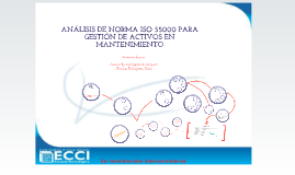 ANÁLISIS DE NORMA ISO 55000 PARA GESTIÓN DE ACTIVOS EN MANTENIMIENTO