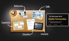 Desktop Prezumé by Giulia Fernandez Avagliano