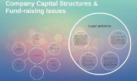 Company Capital Structures & Fund-raising Issues