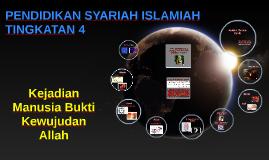 Copy of PENDIDIKAN SYARIAH ISLAMIAH : TINGKATAN 4