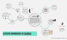 DERECHOS INNOMINADOS EN COLOMBIA