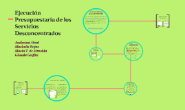 Copy of Ejecución Presupuestaria de los Servicios Desconcentrados