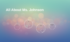 All About Ms. Johnson