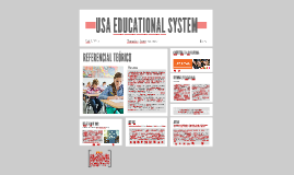 USA EDUCATIONAL SYSTEM