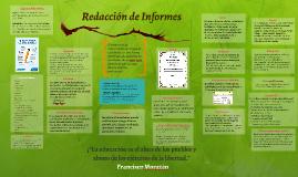 Copy of Redacción de Informes