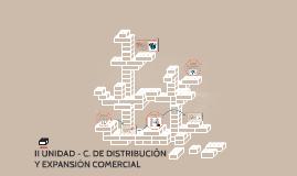 II UNIDAD - C. DE DISTRIBUCIÓN Y EXPANSIÓN COMERCIAL