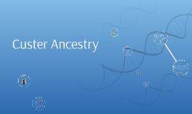 Custer Ancestry