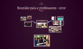Reunião pais e professores - 2019