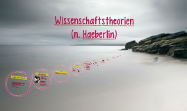 Wissenschaftstheorien (n. Haeberlin)