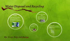 Water Disposal and Recycling