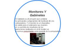 Monitores Y Gabinetes